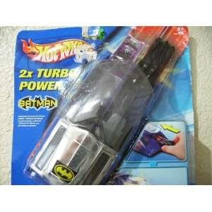 Hot Wheels Batman Turbo Power Launcher and Car