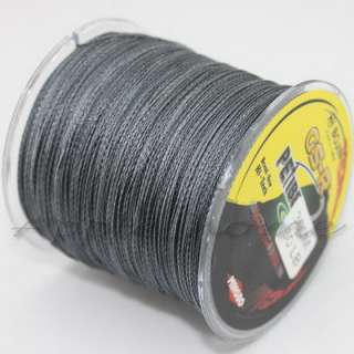 Gray Spuer Strong 100% Dyneema Spectra Braid Fishing Line 300M 327