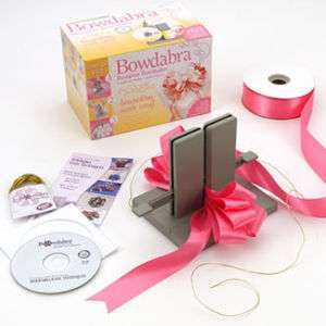 BOWDABRA   Bow Maker Kit   Craft Tool with DVD + Book   ORIGINAL