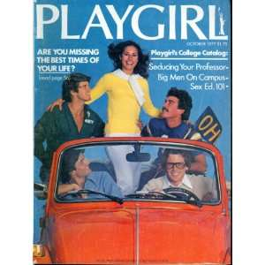 Playgirl Magazine: October 1977 (Vol. V, No. 5): Joyce Dudney Fleming