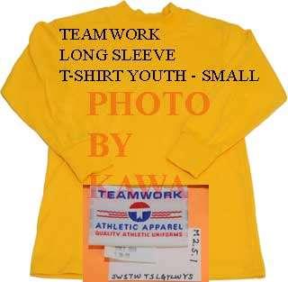 Teamwork Baseball Football Soccer T Shirt Youth Small