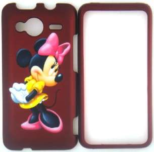 MINNIE MOUSE RED HTC EVO SHIFT 4G PHONE COVER CASE