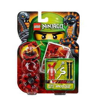 LEGO NINJAGO MASTERS OF SPINJITZU 9571 FANGDAM RED SNAKE MINI FIGURE