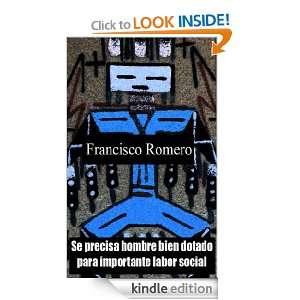 Se precisa hombre bien dotado para importante labor social (Spanish