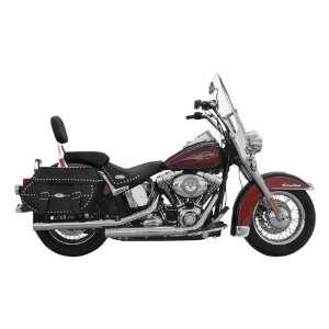 Rush Slip On Muffler, Tip Compatible for 2007 2011 Harley
