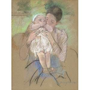 Hand Made Oil Reproduction   Mary Stevenson Cassatt   32 x 42 inches