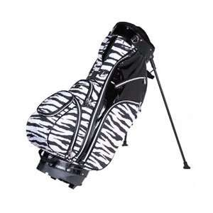 Cutler Sports Ladies StandCarry Golf Bags   Alexa Zebra