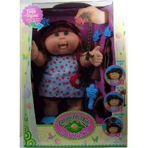 Pop N Style Cabbage Patch Kids Doll   Red Hair & Green