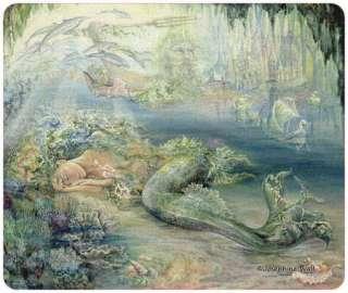 Dreams of Atlantis Mermaid Josephine Wall Fantasy Art Mouse Pad