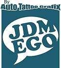 DRIFT AND DESTROY decal sticker drifting JDM import 240
