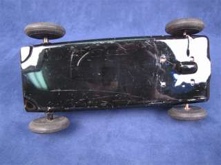 Vintage #7 Tin Friction Race Car Toy Made In Japan 7