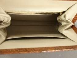 Vintage 100% Genuine Python Snake Skin Small Handbag Purse NR