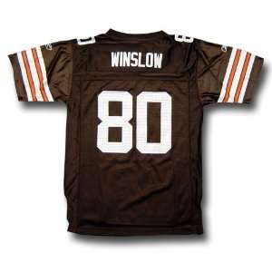 Kellen Winslow #80 Cleveland Browns NFL Replica Player Jersey by