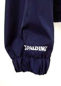 SPALDING athletic windbreaker pullover lightweight jacket LARGE