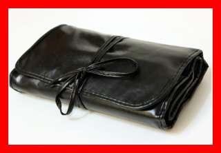 Black color 25 pcs cosmetic brush makeup beauty case set for blush