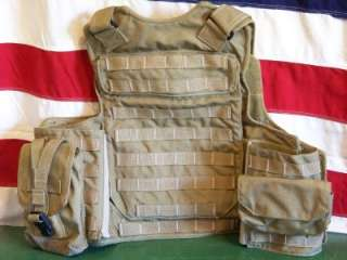 Protech Tactical Armor Plate Carrier Vest Medium Navy Seal/Devgru