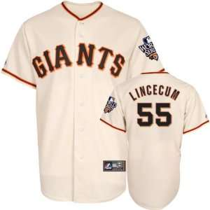 Tim Lincecum Youth Jersey San Francisco Giants #55 Home