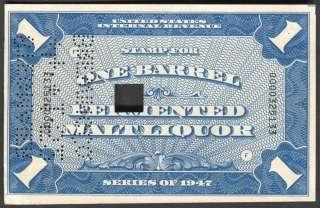 Beer Tax Stamp Scott/Priester REA193a (219)