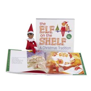 The Elf On the Shelf A Christmas Holiday Tradition   Brown eyed Elf