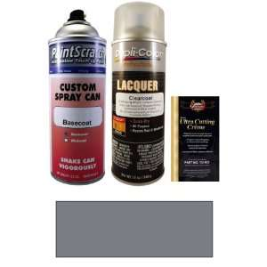 12.5 Oz. Gentry Silver Metallic Spray Can Paint Kit for