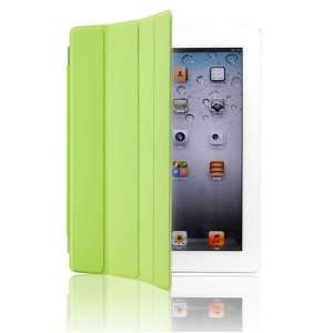 GREEN PU MAGNETIC SMART SLIM CASE COVER FOR APPLE IPAD 2 Electronics