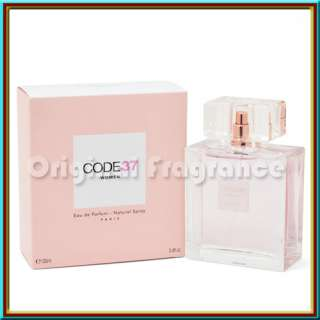 CODE 37 WOMEN ~ KAREN LOW ~ 3.4 OZ EDP 100 ML PERFUME ~ NEW IN BOX