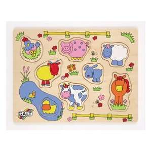 Wooden Farm Puzzle Toys & Games