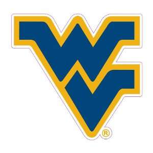 West Virginia Mountaineers Car Magnet Decal (12  inch