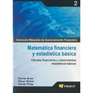 Matematica Financiera Y Estadistica Basica (Spanish