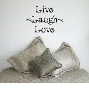 LIVE LAUGH LOVE LEAF   Family Design   Vinyl Wall Room