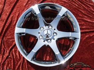 17 MERCEDES BENZ C230 C350 OEM CHROME WHEELS EXCHANGE