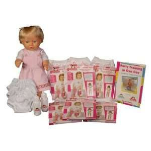 N0013 Potty Training in One Day   The Essential System for Girls: Baby