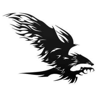 Phoenix Decal Sticker Eagle Hawk Truck Car Vinyl W7X43
