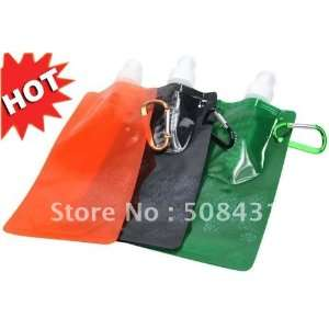 bottle foldable bottle eco friendly plastic water bag Sports