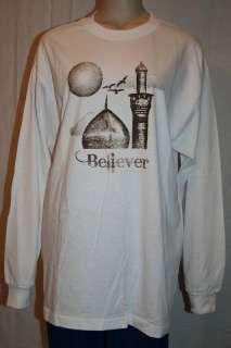 Cotton Islamic SweatShirt T Shirt Muslim Men/Women Top