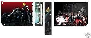 Final Fantasy VII FF7 Nintendo Wii Vinyl Skin