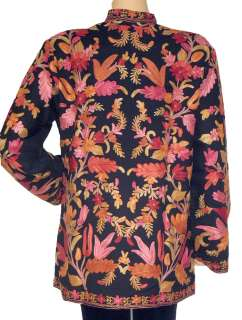 Wool Jacket India Long Evening Ladies Designer Fashion Coat L