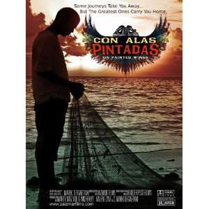 Con alas pintadas Poster Movie 27 x 40 Inches   69cm x