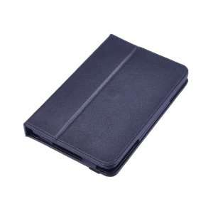 Black Rotation Faux Folio Leather Case Cover Pouch for  Kindle