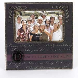 New View Dance Love Sing Wax Seal Frame