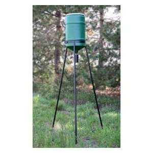 On Time Elite Lifetime Tripod Deer Feeder   71237: Sports & Outdoors
