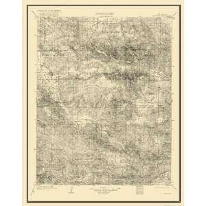 USGS TOPO MAP MOUNT PINOS QUAD CALIFORNIA (CA) 1903