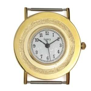 Gold Plated 32mm Round Watch Face Home & Kitchen