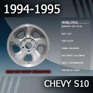 1994 1995 Chevy Malibu Factory 15 Replacement Wheels Set