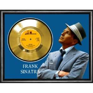 Frank Sinatra My Way Framed Gold Record A3 Musical Instruments