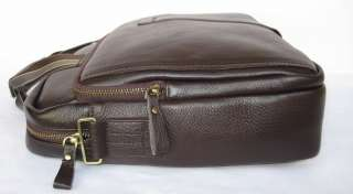 Genuine Cowhide Italy Leather Bag Briefcase Messenger Laptop Case B3