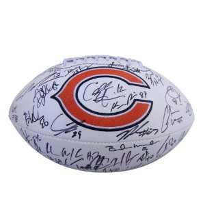 2011 Chicago Bears Team Signed Autographed Football W/coa