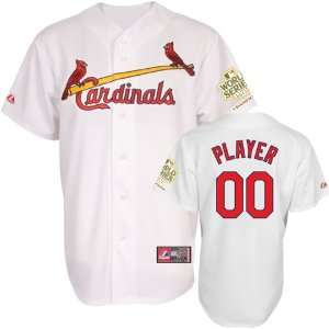 Tony LaRussa St. Louis Cardinals Majestic Replica # 10 Jersey w/ World