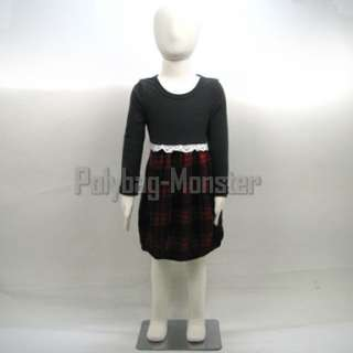 Display Fabric Mannequin Children Dress Form 134cm #P10