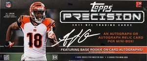 2011 Topps Precision Football Factory Sealed Hobby Box